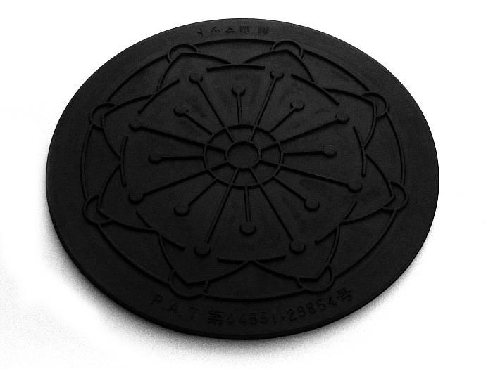 Gummimatte für Kenzan - rund